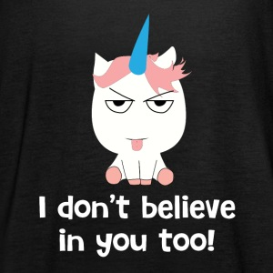 Unicorn Einhorn Tops - Women's Tank Top by Bella