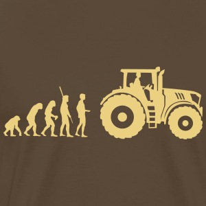 evolution tractor T-Shirts - Men's Premium T-Shirt