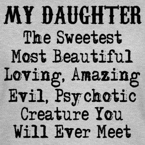 Evil Daughter - Women's T-Shirt
