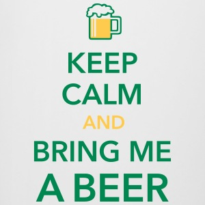 Keep calm and bring me a Beer Biergarten Grillpart - Bierkrug