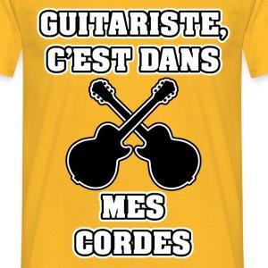 GUITARISTE C'EST DANS MES CORDES - JEUX DE MOTS
