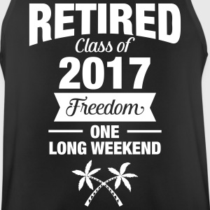 Retires Class Of 2017 - Freedom - One Long Weekend Sports wear - Men's Breathable Tank Top