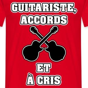 GUITARISTE ACCORDS ET À CRIS - JEUX DE MOTS