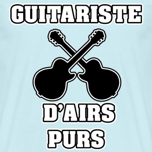 GUITARISTE D'AIRS PURS - JEUX DE MOTS