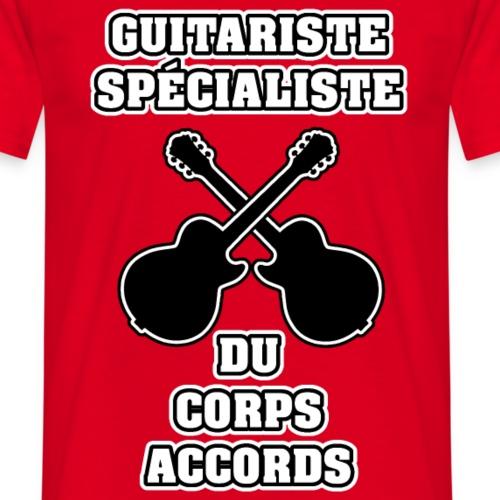 GUITARISTE SPÉCIALISTE DU CORPS ACCORDS