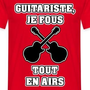 GUITARISTE JE FOUS TOUT EN AIRS - JEUX DE MOTS