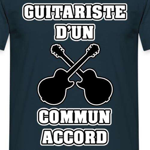GUITARISTE D'UN COMMUN ACCORD - JEUX DE MOTS