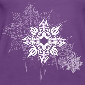 star flower Tops - Women's Premium Tank Top