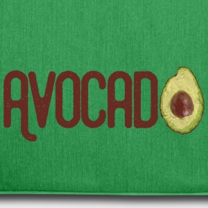 Trendy Yummy Avocado Grunge Style Text - Schultertasche aus Recycling-Material