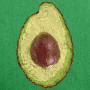 Trendy Yummy Avocado Grunge Style - Schultertasche aus Recycling-Material