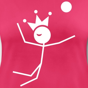 Volleybalkoning T-shirts - vrouwen T-shirt ademend