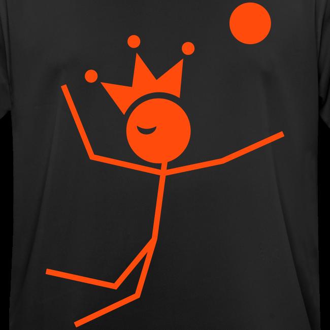 Volleybalkoning T-shirt ademend
