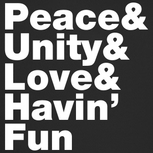 Peace & Unity & Love & Havin' Fun Caps & Hats - Trucker Cap