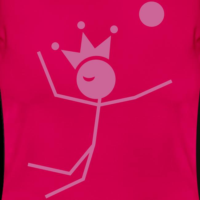 Volleybalkoningin T-shirt