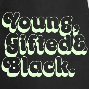 Young, Gifted & Black.  Aprons - Cooking Apron