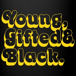 Young, Gifted & Black. Mugs & Drinkware - Full Colour Mug