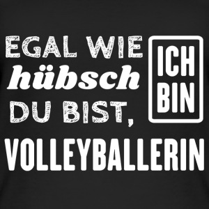 Volleyballerin Tops - Frauen Bio Tank Top
