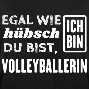 Volleyballerin T-Shirts - Frauen Oversize T-Shirt