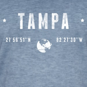 Tampa  T-shirts - Mannen Vintage T-shirt