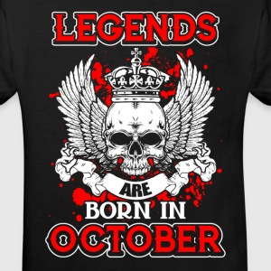 October - legend - birthday - EN Shirts - Kids' Organic T-shirt