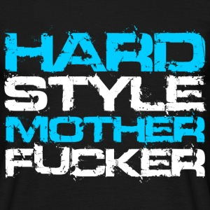 Negro Hardstyle Motherfucker (For Dark Shirts) Camisetas - Camiseta hombre