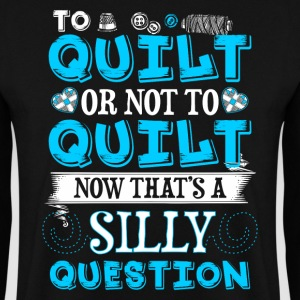 To Quilt or Not To Quilt - Quilting - EN Sweatshirts - Herre sweater