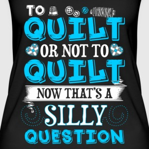 To Quilt or Not To Quilt - Quilting - EN Tops - Frauen Bio Tank Top