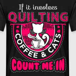 Count me In Quilting - EN T-Shirts - Men's T-Shirt