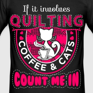 Count me In Quilting - EN T-shirts - slim fit T-shirt