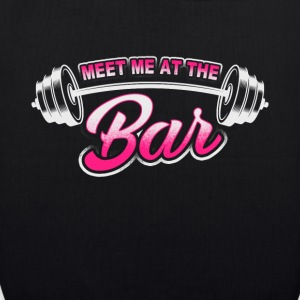 Meet Me At Bar - Workout - EN Bags & Backpacks - EarthPositive Tote Bag