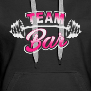 Team Bar - Workout - EN Pullover & Hoodies - Frauen Premium Hoodie