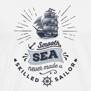 Anker shirt smooth sea sailor T-Shirts - Männer Premium T-Shirt