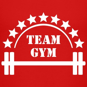 Team Gym Squat Fitness Workout Hantel T-Shirts - Teenager Premium T-Shirt