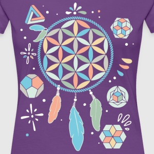 Dream Catcher - Frauen Premium T-Shirt