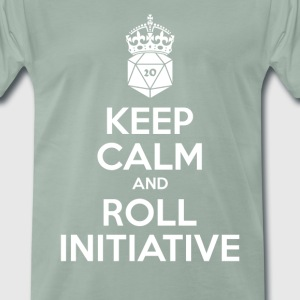 Keep calm and roll Initiative T-shirts - Mannen Premium T-shirt