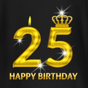 25-happy birthday - birthday - number gold Baby Long Sleeve Shirts - Baby Long Sleeve T-Shirt