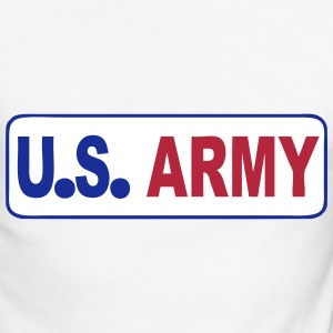 (usa_army_06) Manches longues - T-shirt baseball manches longues Homme