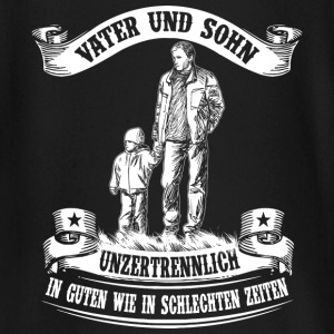 Father and son - inseparable Baby Long Sleeve Shirts - Baby Long Sleeve T-Shirt