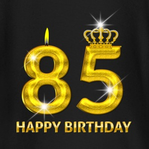 85 - happy birthday - birthday - number gold Baby Long Sleeve Shirts - Baby Long Sleeve T-Shirt