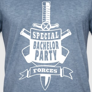 Special Bachelor Party Forces T-Shirts - Männer Vintage T-Shirt