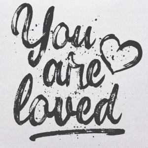 You are loved mit Herz - grau Kuscheltiere - Teddy
