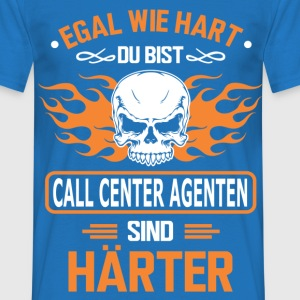 CALL CENTER AGENTEN T-Shirts - Männer T-Shirt