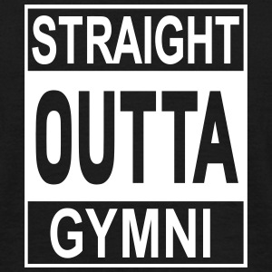 Straight Outta Gymni - Männer T-Shirt