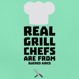 Chef Grill real son de S533t Buenos Aires Camisetas - Camiseta mujer
