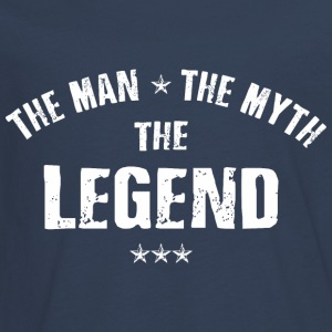 The Man The Myth The Legend Langarmshirts - Teenager Premium Langarmshirt
