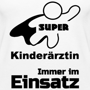 Super Kinderärztin Tops - Frauen Premium Tank Top