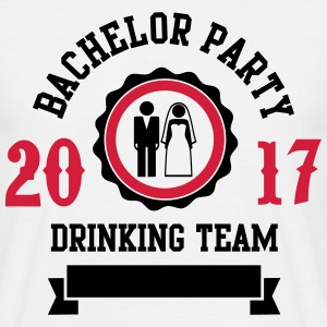 Bachelor Party Drinking Team Tee shirts - T-shirt Homme