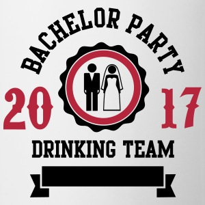 Bachelor Party Drinking Team Bouteilles et Tasses - Tasse
