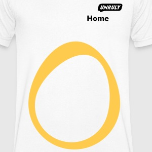 Home symbol T-Shirts - Men's V-Neck T-Shirt