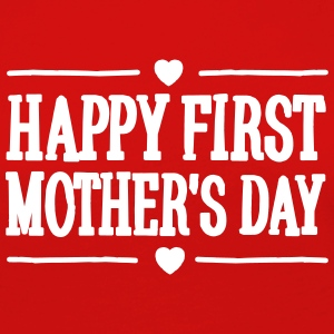 Happy first mother's day Shirts met lange mouwen - Vrouwen Premium shirt met lange mouwen